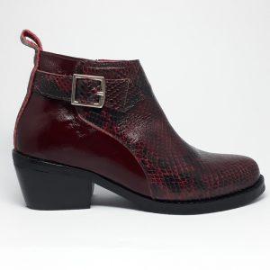 botines de cuero mujer rodolita