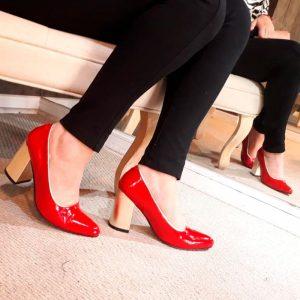 zapatos de cuero mujer rubi