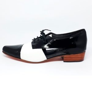 zapato oxford white